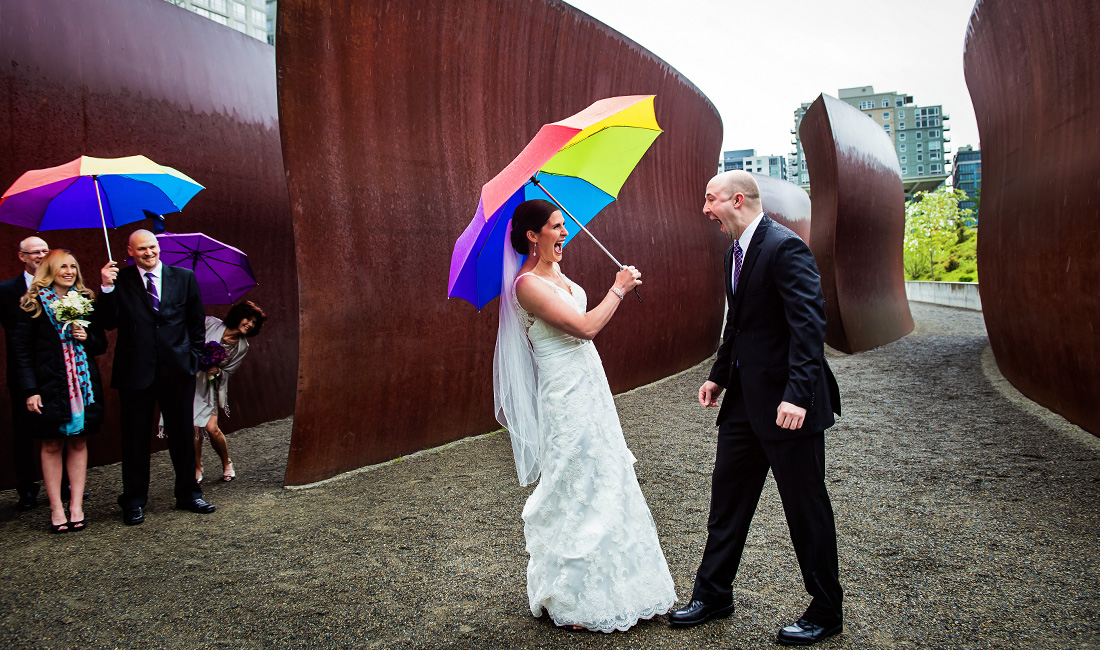 olympic sculpture park photos - seattle wedding photographers