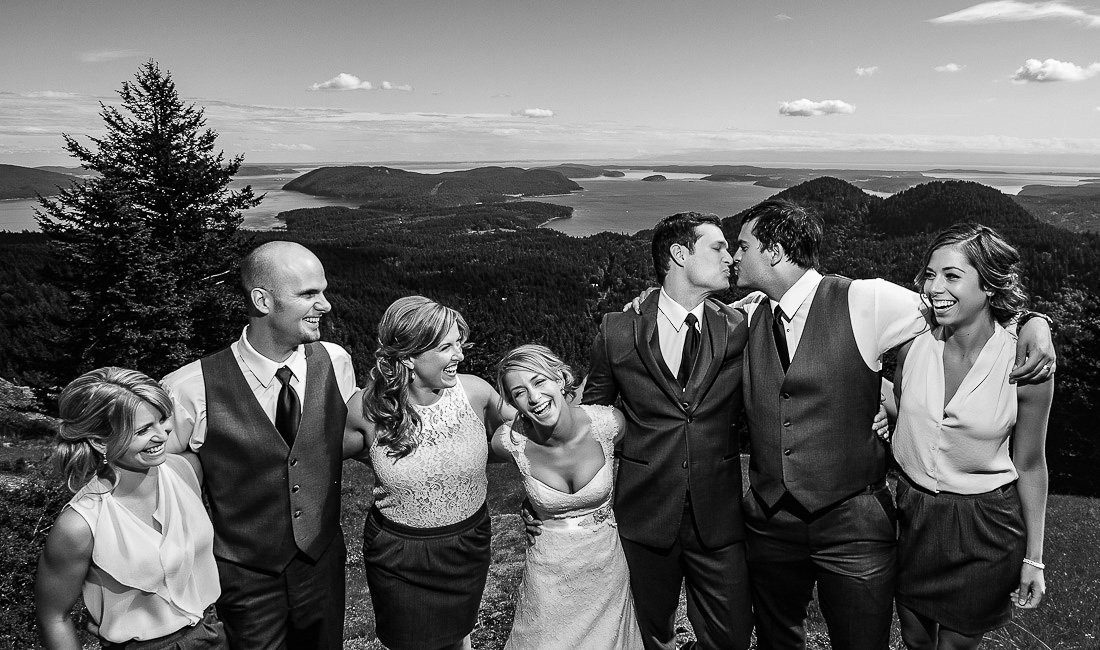 orcas islant wedding photos