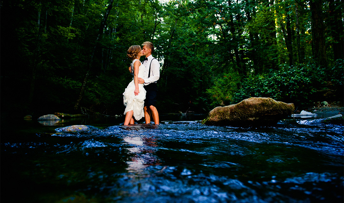 whatcom falls wedding photos