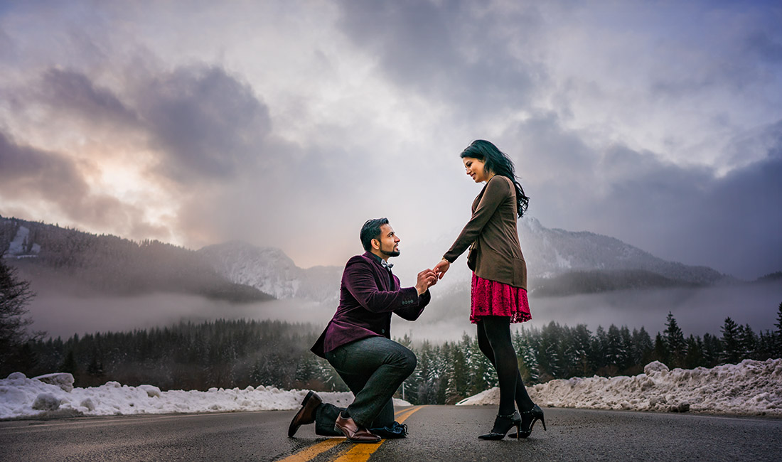 indian engagement photos ideas